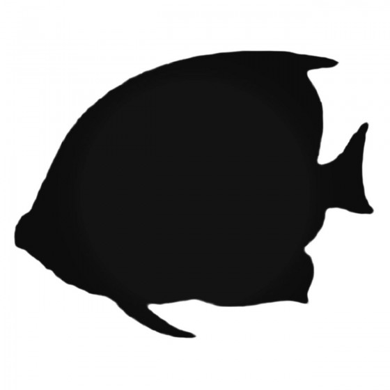 Angel Fish Silhouette Decal...