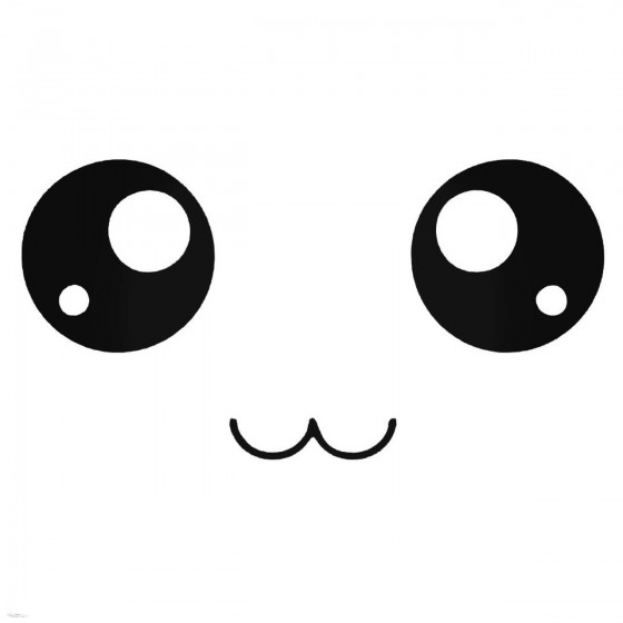 Anime Smiley With Big Eyes...