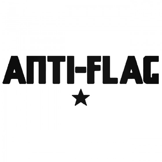 Antiflag Decal Sticker