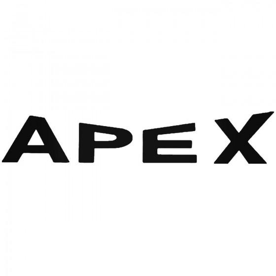 Apex Sticker