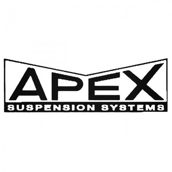 Apex Suspension Decal Sticker