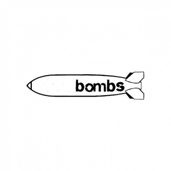 1000 Bombs Band Logo Vinyl...