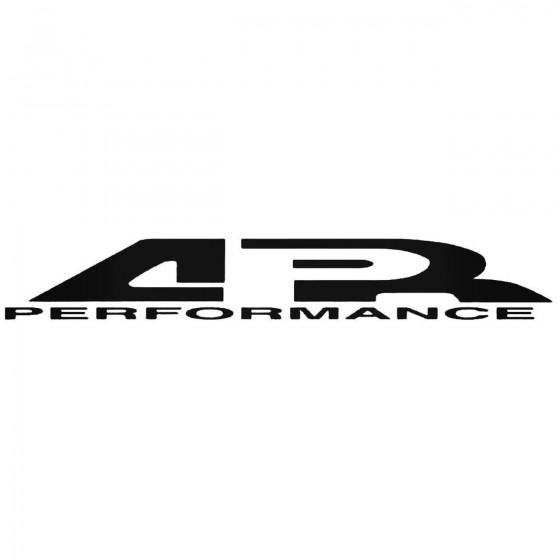 Apr Graphic Decal Sticker