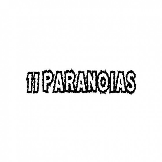 11 Paranoias Band Logo...