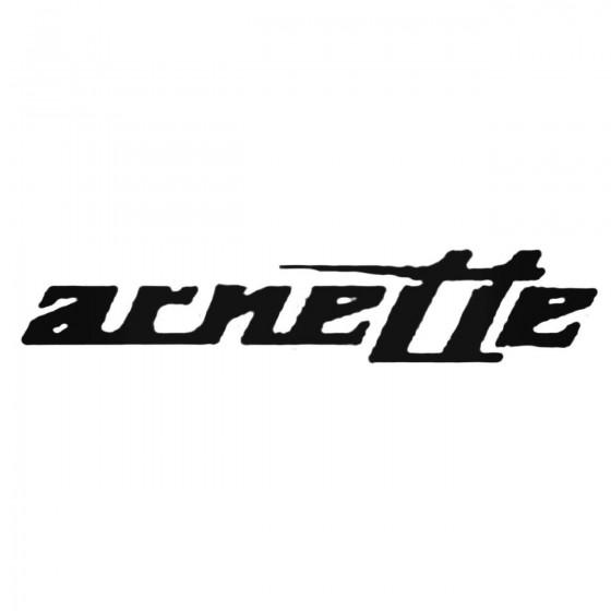 Arnette Inner Decal Sticker