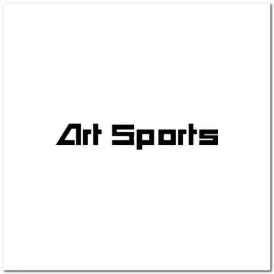 Artsports Decal Sticker