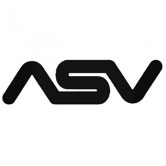 Asv Inventions Decal Sticker