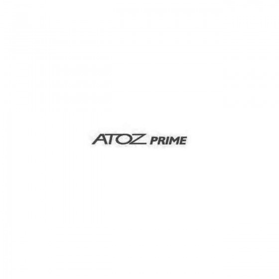 Atoz Prime Decal Sticker