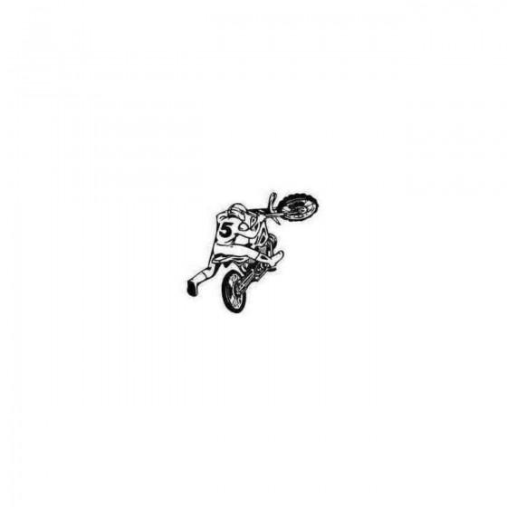 Atv Dirt Bike 9 Decal Sticker