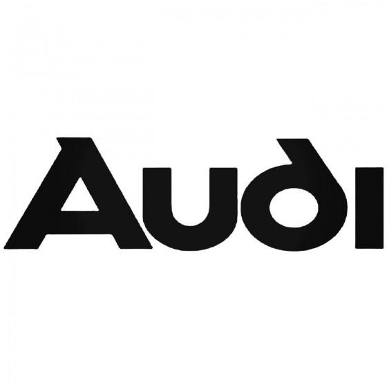 Audi 3 Decal Sticker 1
