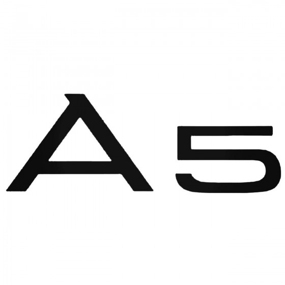 Audi A5 Aftermarket Decal...
