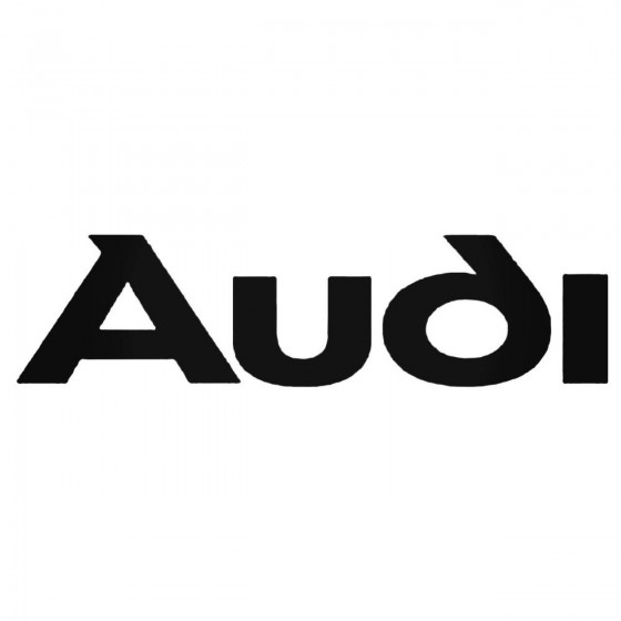 Audi Logo Aftermarket Decal...