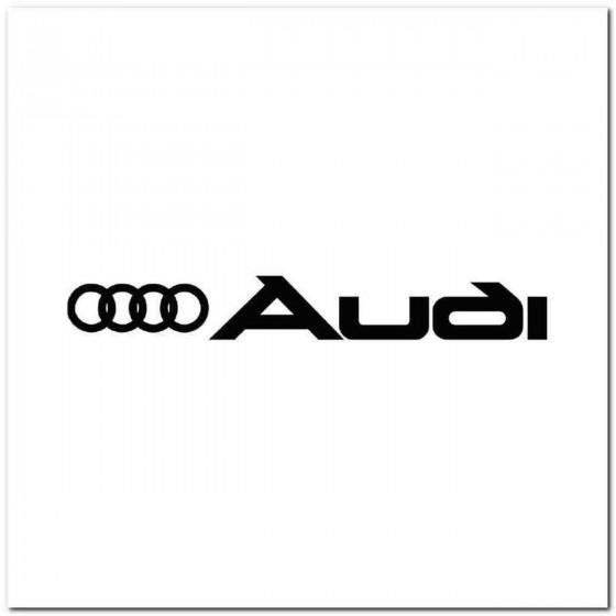 Audi Logo Motief 5 Decal...