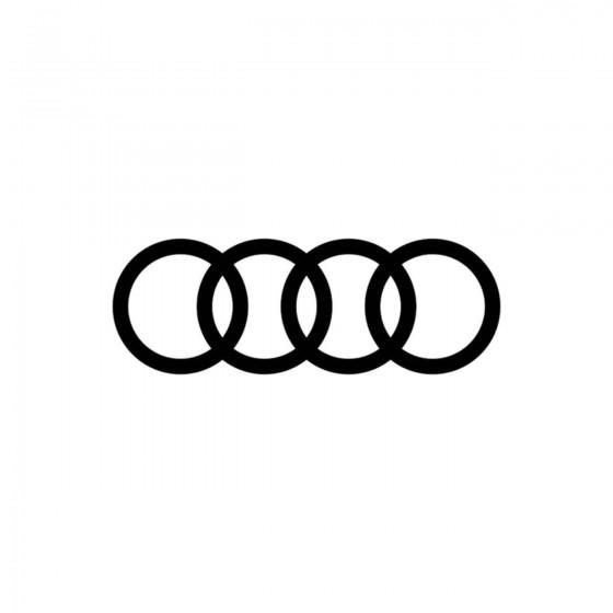 Audi Logo Simple Vinyl...