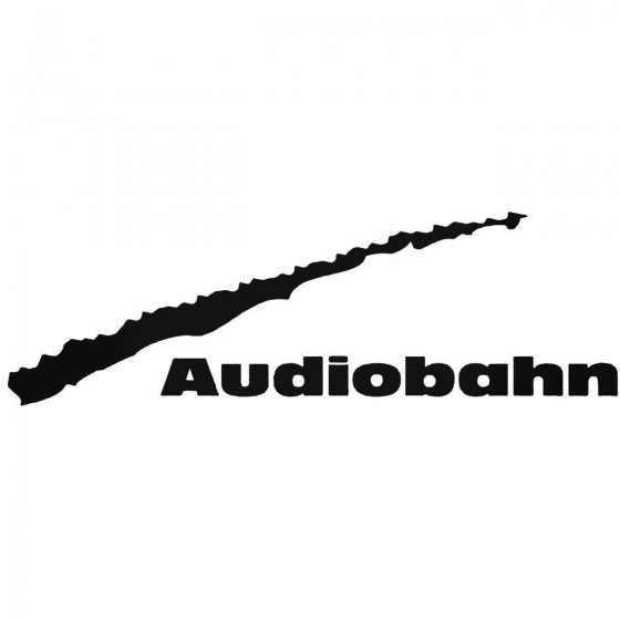 Audiobahn Graphic Decal...