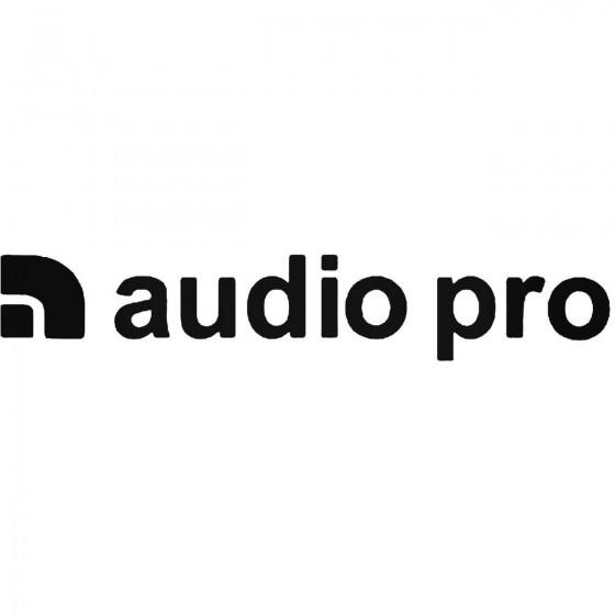 Audio Pro Logo Sticker