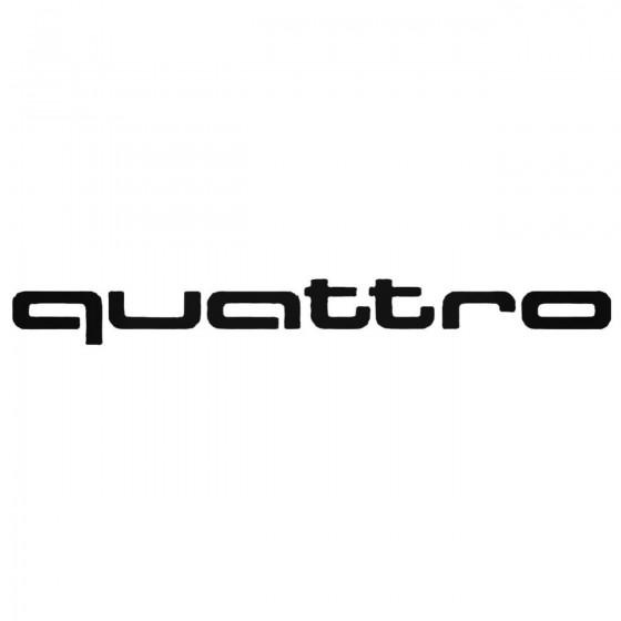 Audi Quattro Aftermarket...
