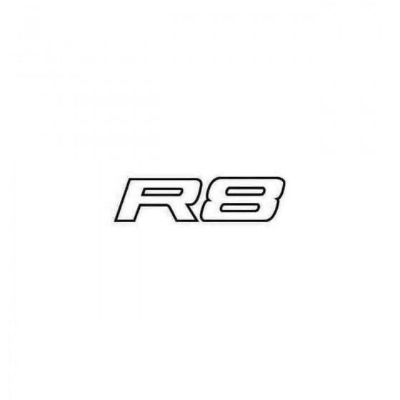 Audi R8 Decal Sticker