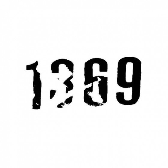 1369 Band Logo Vinyl Decal
