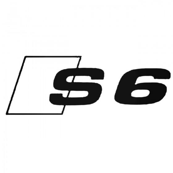 Audi S6 Decal Sticker