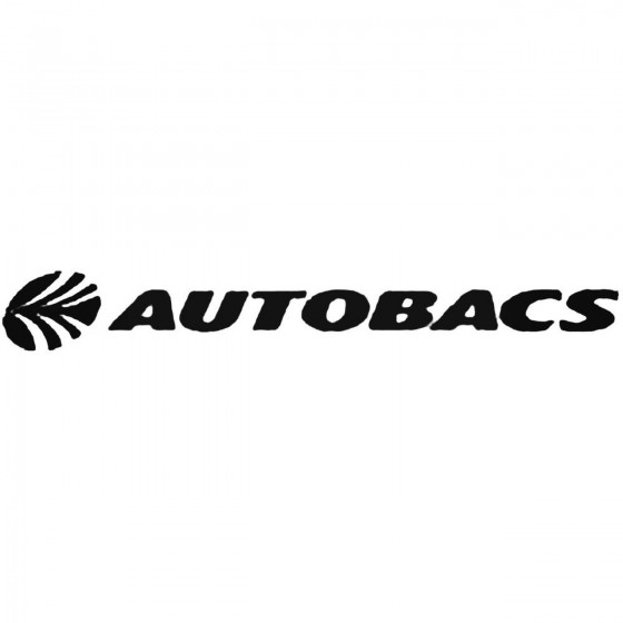 Autobacs Vinyl Decal