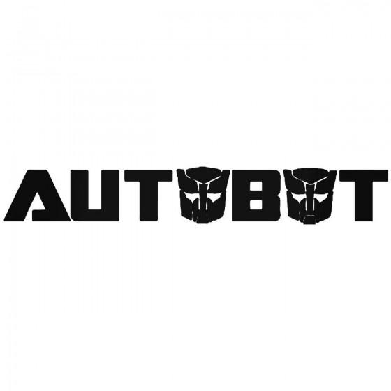 Autobot Transformers Sticker