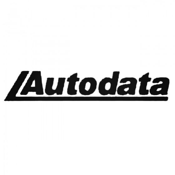 Autodata S Decal Sticker