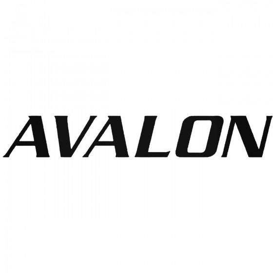 Avalon Graphic Decal Sticker