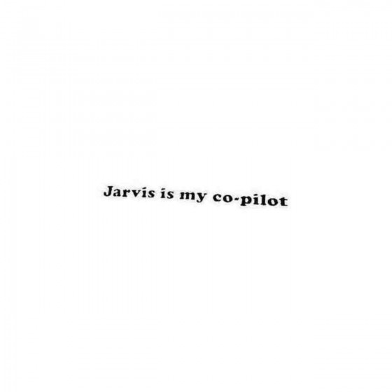 Avengers Jarvis Is My...