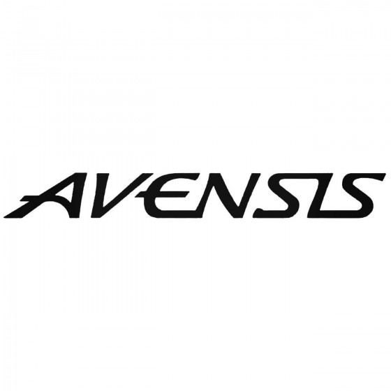 Avensis Graphic Decal Sticker