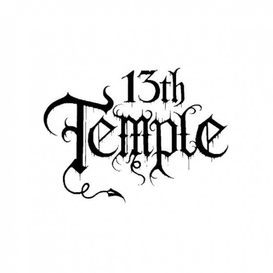 13th Temple Band Logo Vinyl...