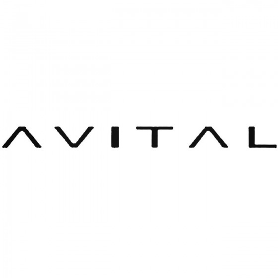 Avital B Decal Sticker