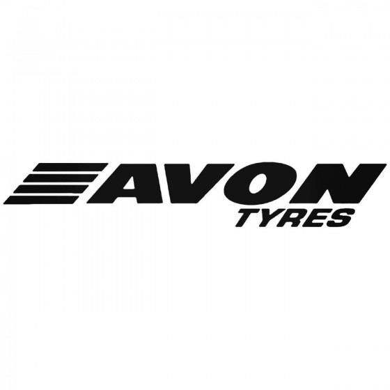 Avon Tyres Sticker