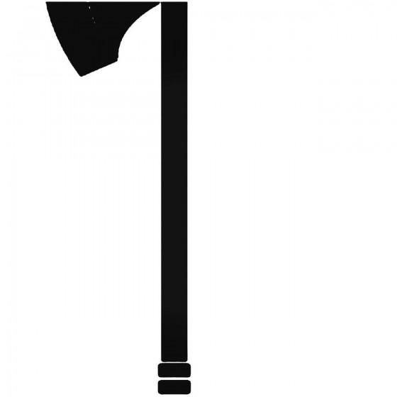 Axe War Hammer Sticker