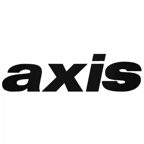 Axis Wheels S Vinl Car...