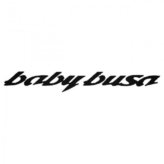 Babybusa Decal Sticker