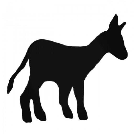 Baby Donkey Decal Sticker