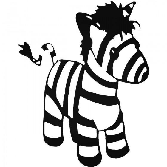 Baby Zebra Sticker