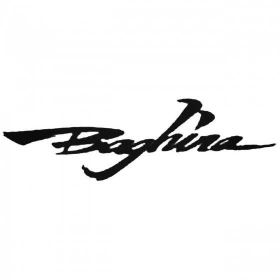 Baghira Decal Sticker