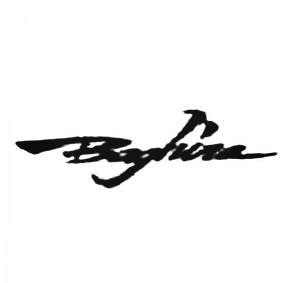 Baghira S Decal Sticker