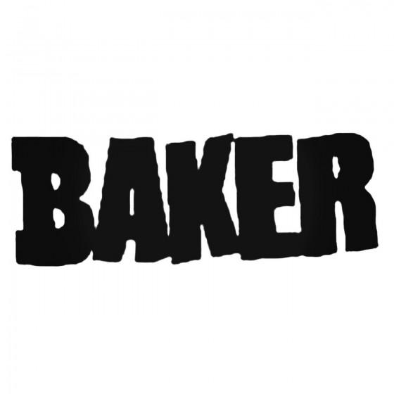 Baker Decal Sticker