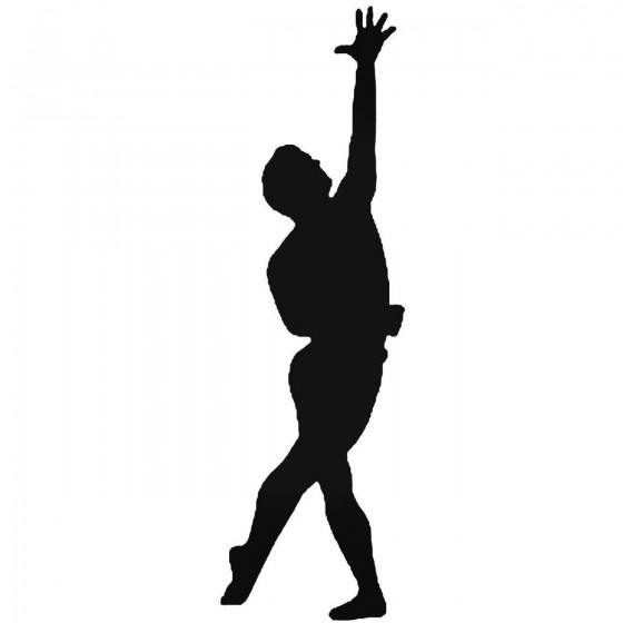 Ballet Dancer 2 Sticker