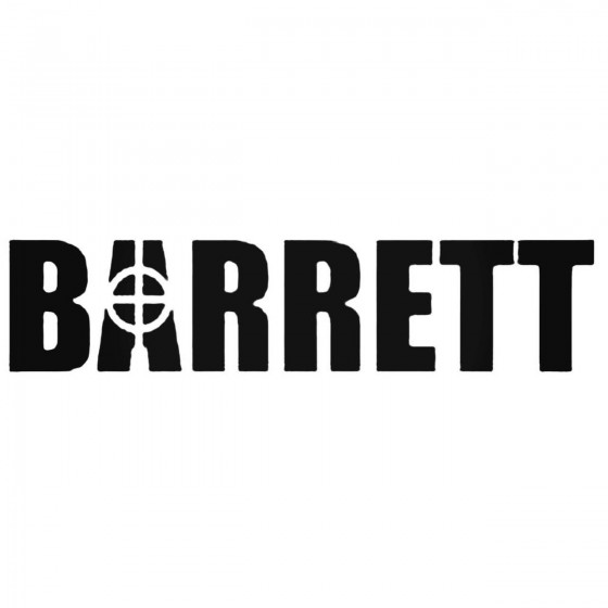 Barrett Firearm Die Cut...