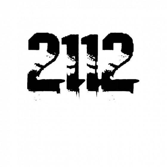 2112 Band Logo Vinyl Decal