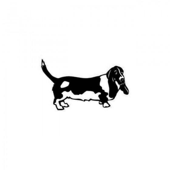 Bassett Hound Decal Sticker