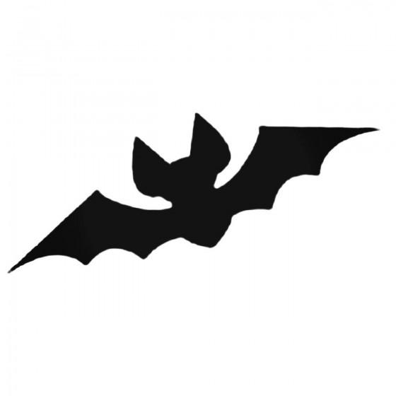Bat 10 Decal Sticker