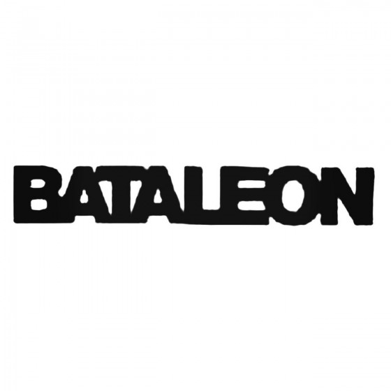 Bataleon Text Decal Sticker