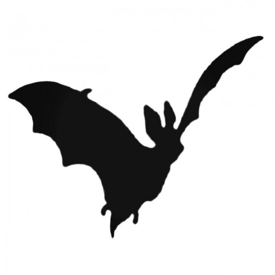 Bat Car Decal Sticker