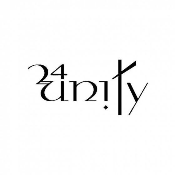 24unity Band Logo Vinyl Decal