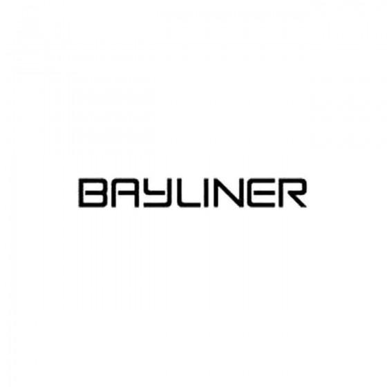 Bayliner Decal Sticker